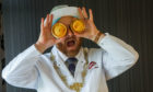 """Scottish Bakers president Ronnie Miles has an """"Eye for a Pie"""""""