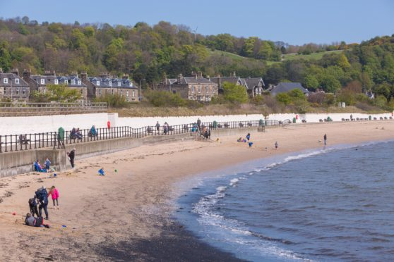 Cruise ship passengers could come ashore at Burntisland
