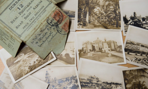 The letters from the First World War which were picked up at a carboot sale.