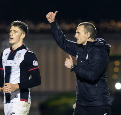 St Mirren could move third bottom at the weekend.