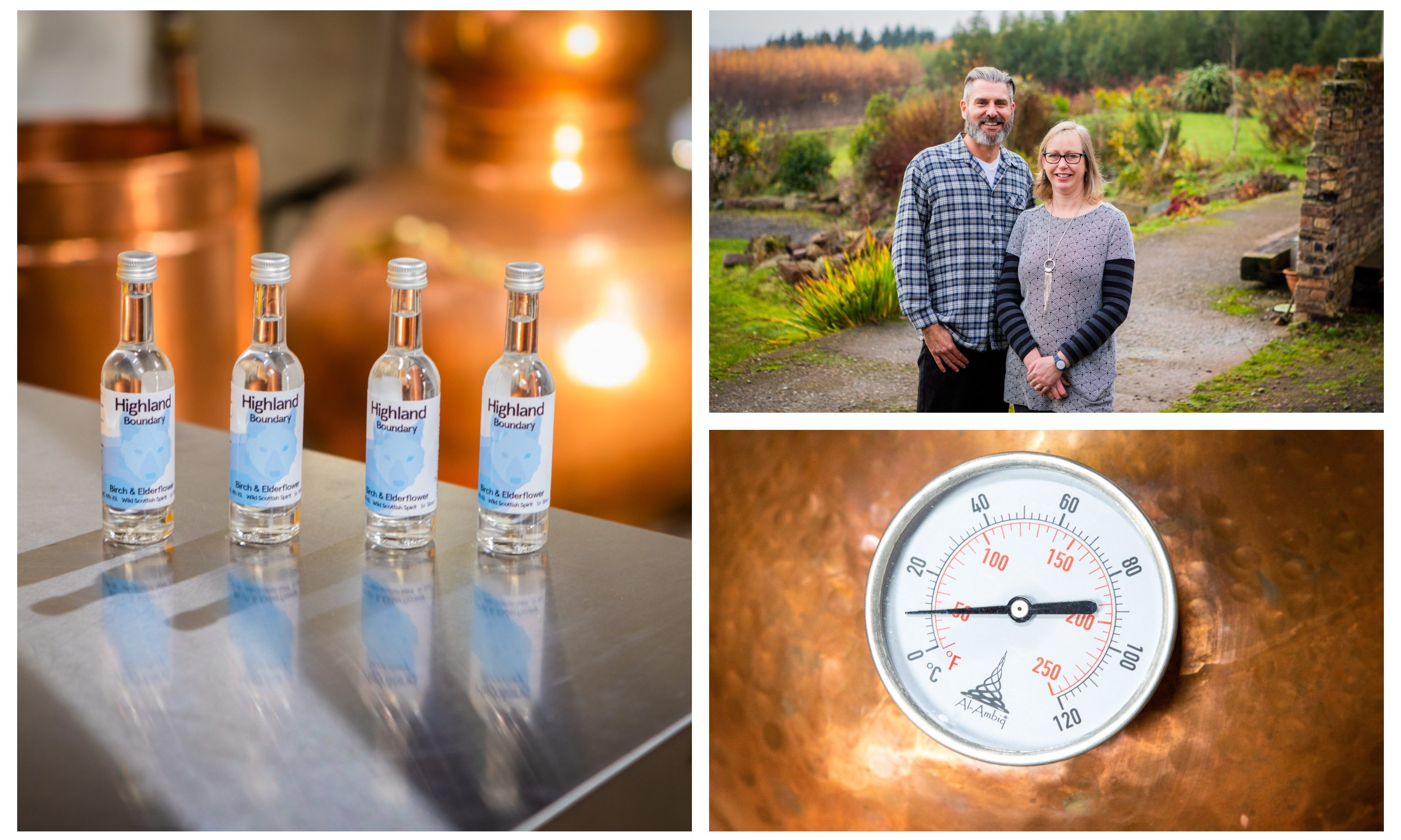 But Dr Marian Bruce and her husband Simon Montador have launched the new Scottish spirit.