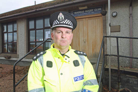 "Chief Inspector Steven Hamilton says it is largely a ""positive picture"" in Tay Bridgehead in terms of anti-social behaviour."