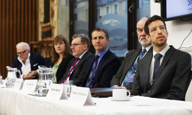 The Tay Cities Deal was signed at Perth Civic Hall.