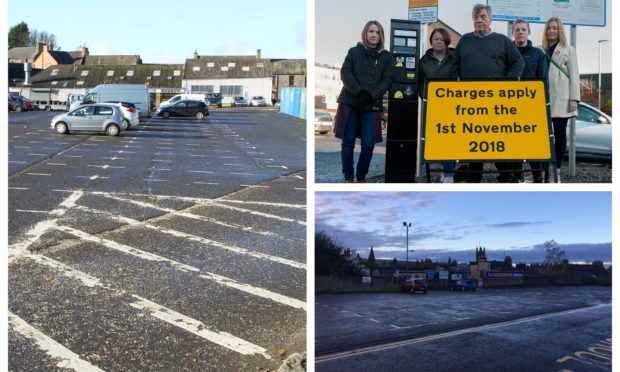 The November 1 introduction of off-street charging brought empty car parks across Angus