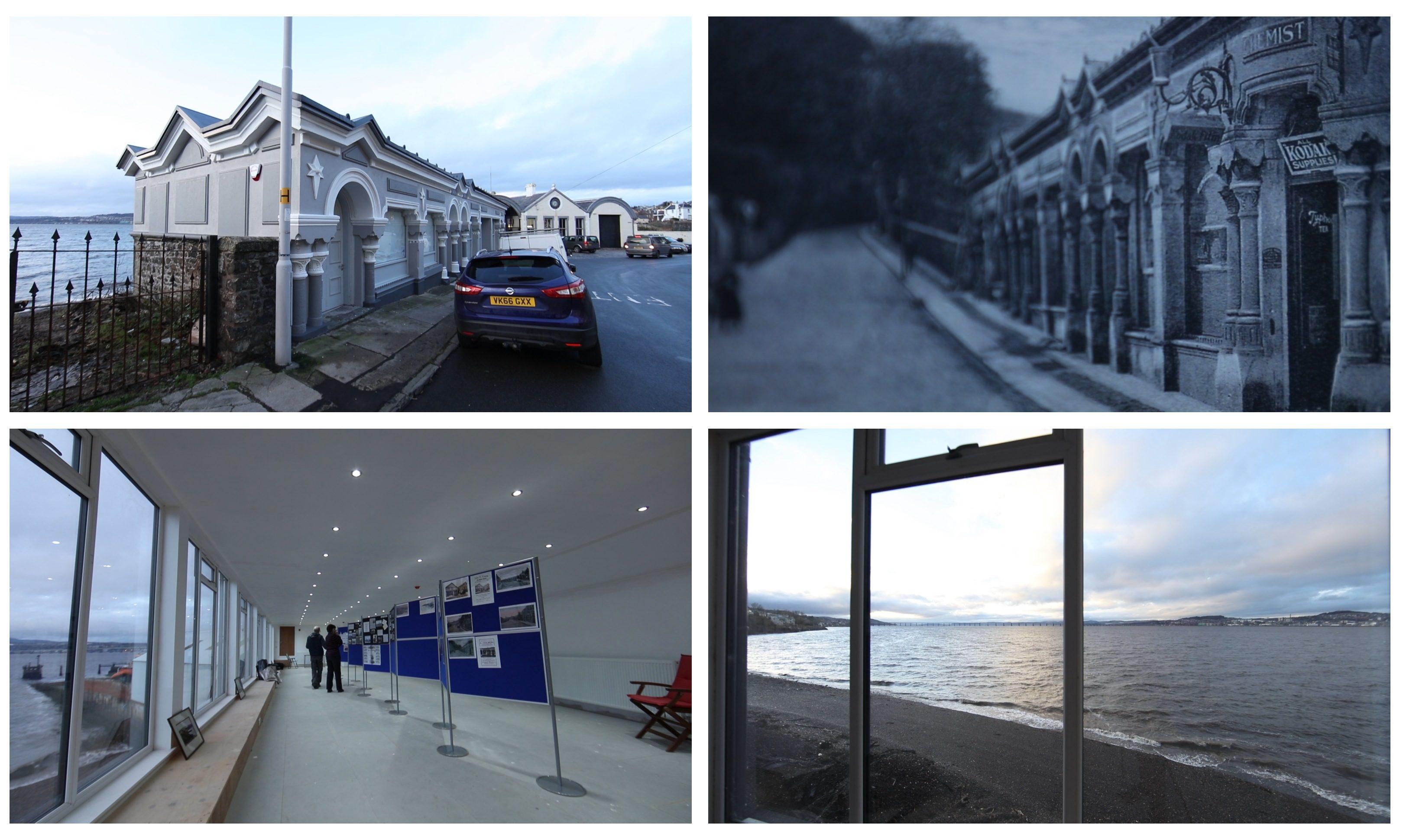 The Newport Pier Buildings have been transformed.