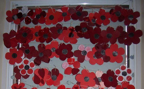 Poppies at the Signal Tower Museum.