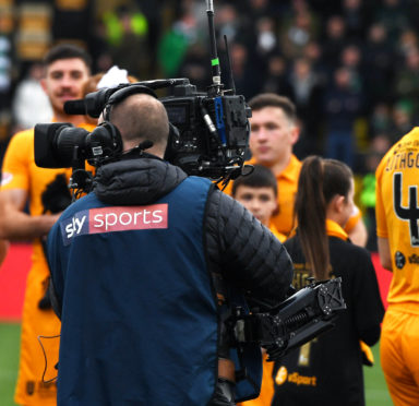 Sky Sports have won the rights for Scottish football.