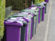 Bins out in Carnoustie