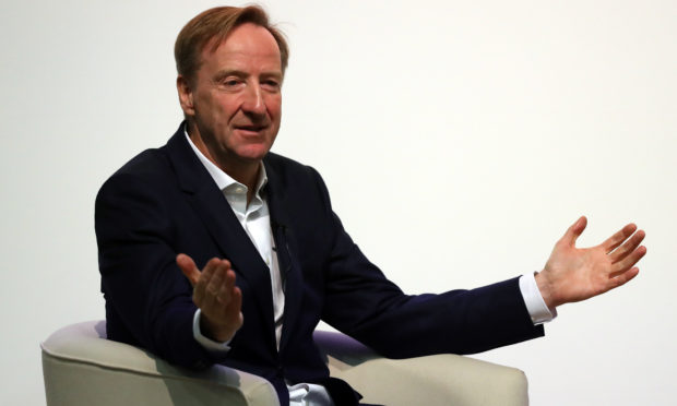 Alex Younger, chief of MI6.