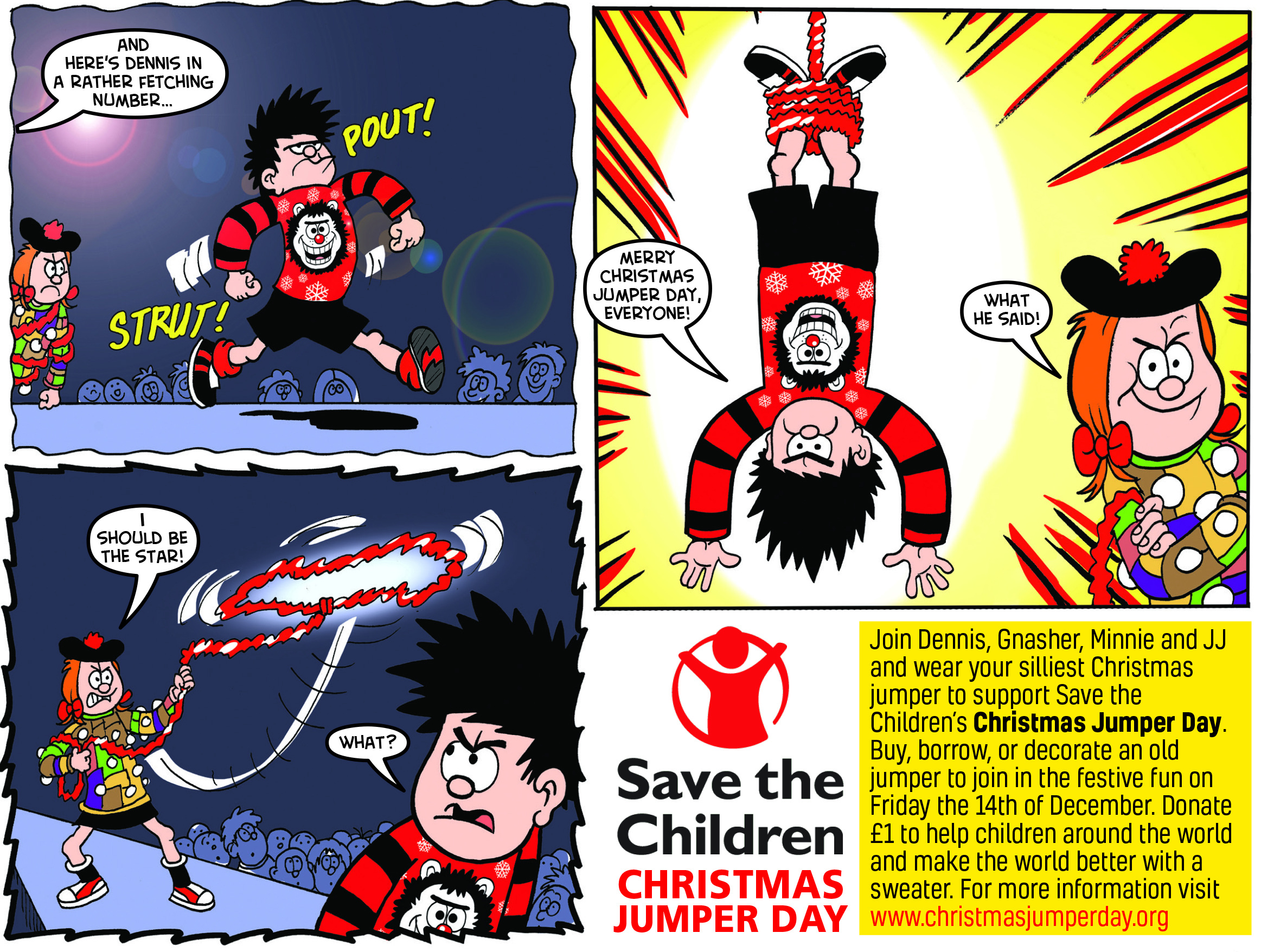 A panel from the Beano comic.