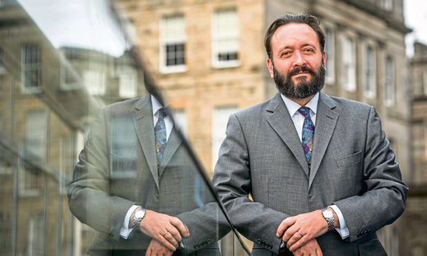 Tomás Carruthers of Scottish Stock exchange group Bourse Scot Ltd   .