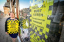 Michelle Ingram of Highland Scene in Montrose objects to the Angus Council parking charges.