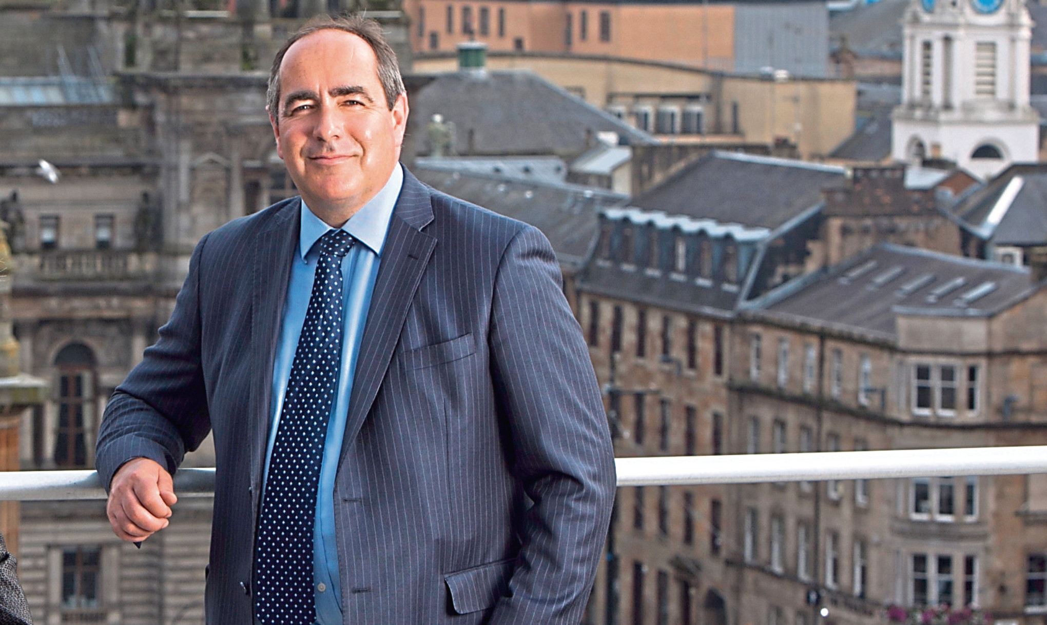 Blackadders managing partner Johnston Clark