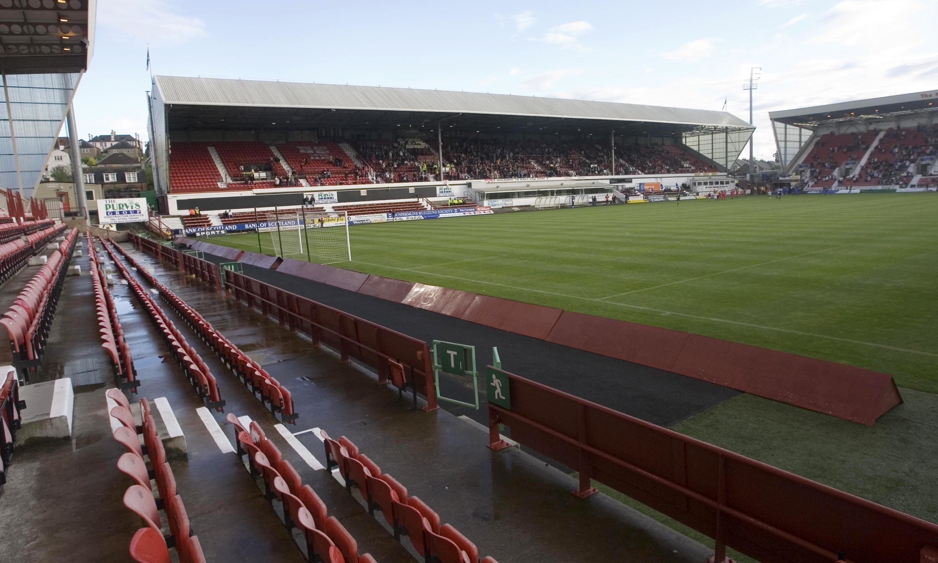 East End Park in Dunfermline