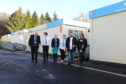 Pupils hailed the standard of the temporary classrooms