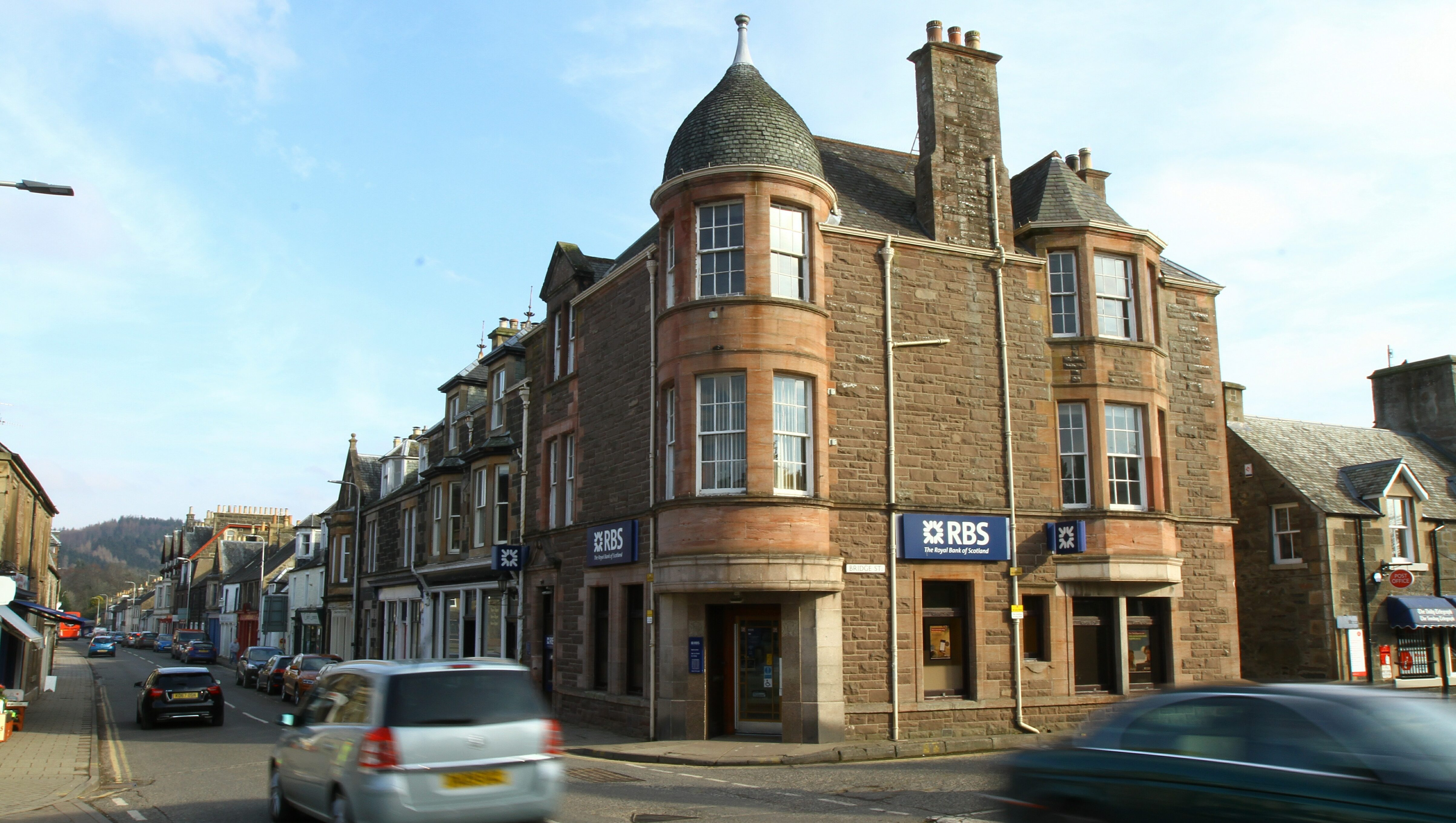 The RBS in Comrie.