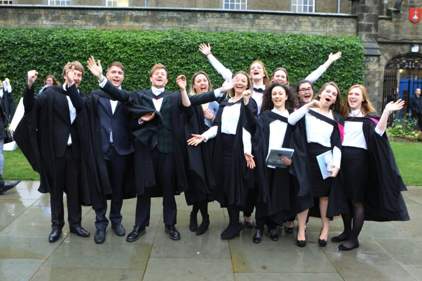 A happy bunch of Eco System Based Management of Marine Systems graduates.