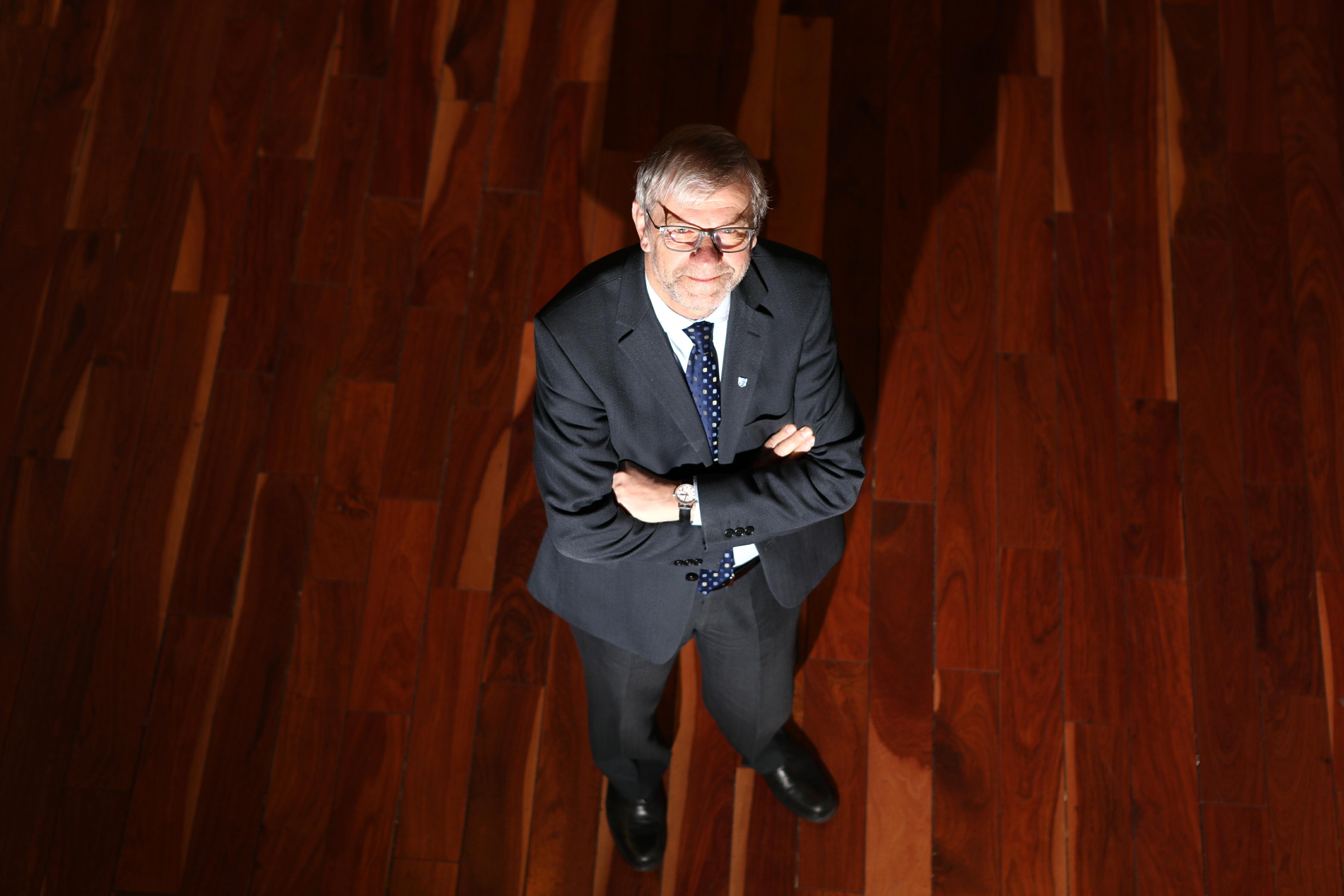 Professor Sir Pete Downes.