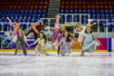 Rehearsals at Dundee Ice Arena.