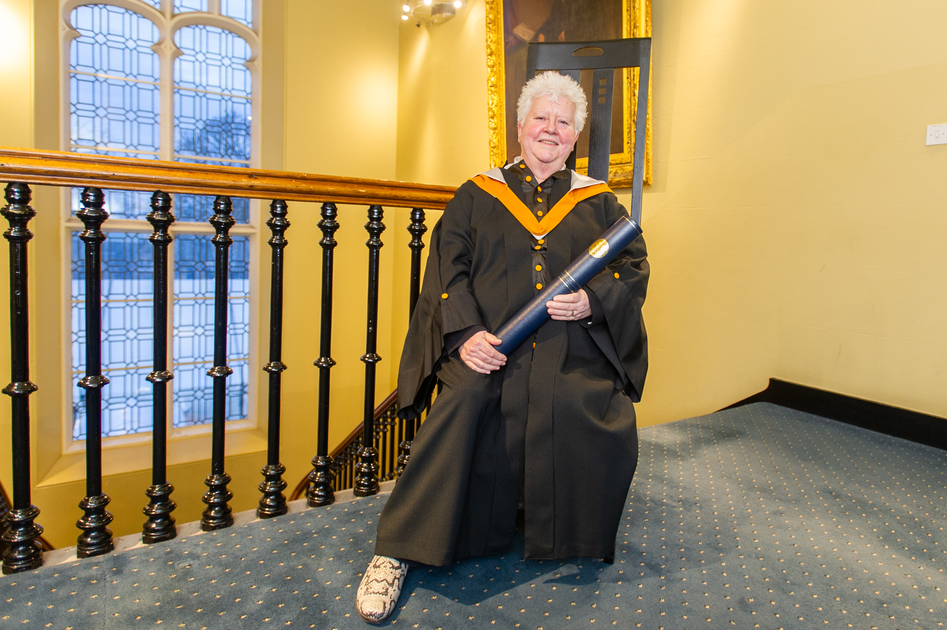 The Queen of Crime, Val McDermid is an honorary graduate