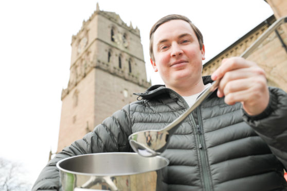 Masterchef: the Professionals contestant Dean Banks.