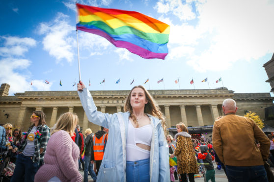 The inaugural Dundee Pride event took place in September.