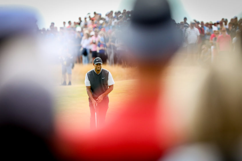 The Open, one of the world's biggest sporting events, was held at Carnoustie in July.