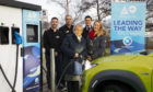 A9 Electric's first vehicle chargepoint goes live in Inverness