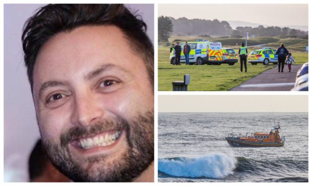 Dean Morrison's body was found at the Barry Burn in Carnoustie.
