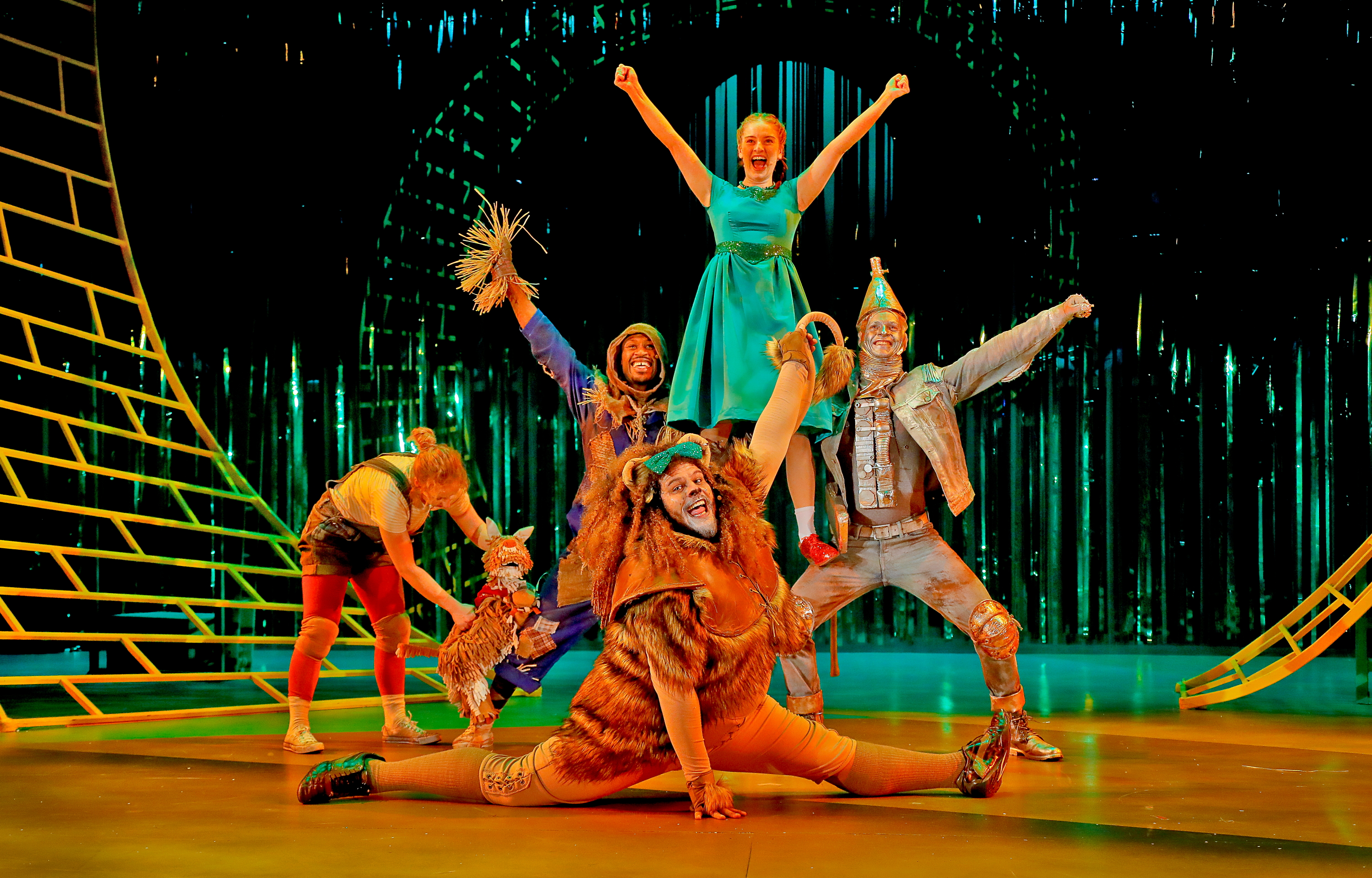 The Wizard of Oz at Pitlochry Festival Theatre.