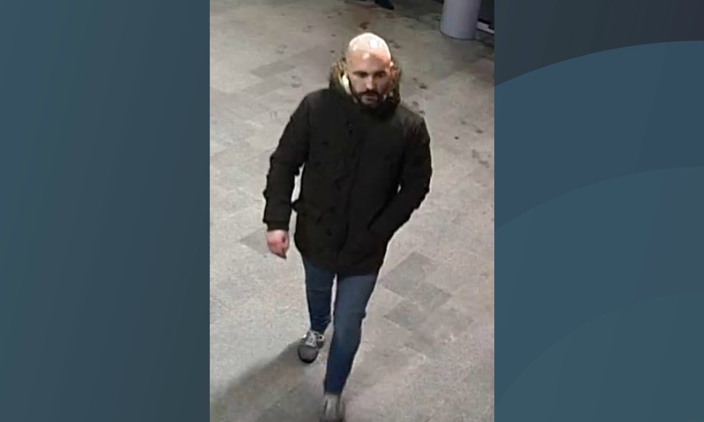 Police investigating an assault on a train conductor on December 2 are seeking a man they believe can help their inquiry.