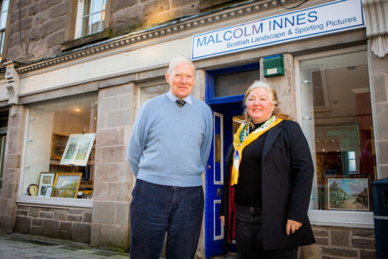 Malcolm Innes and Iona Drummond Moray