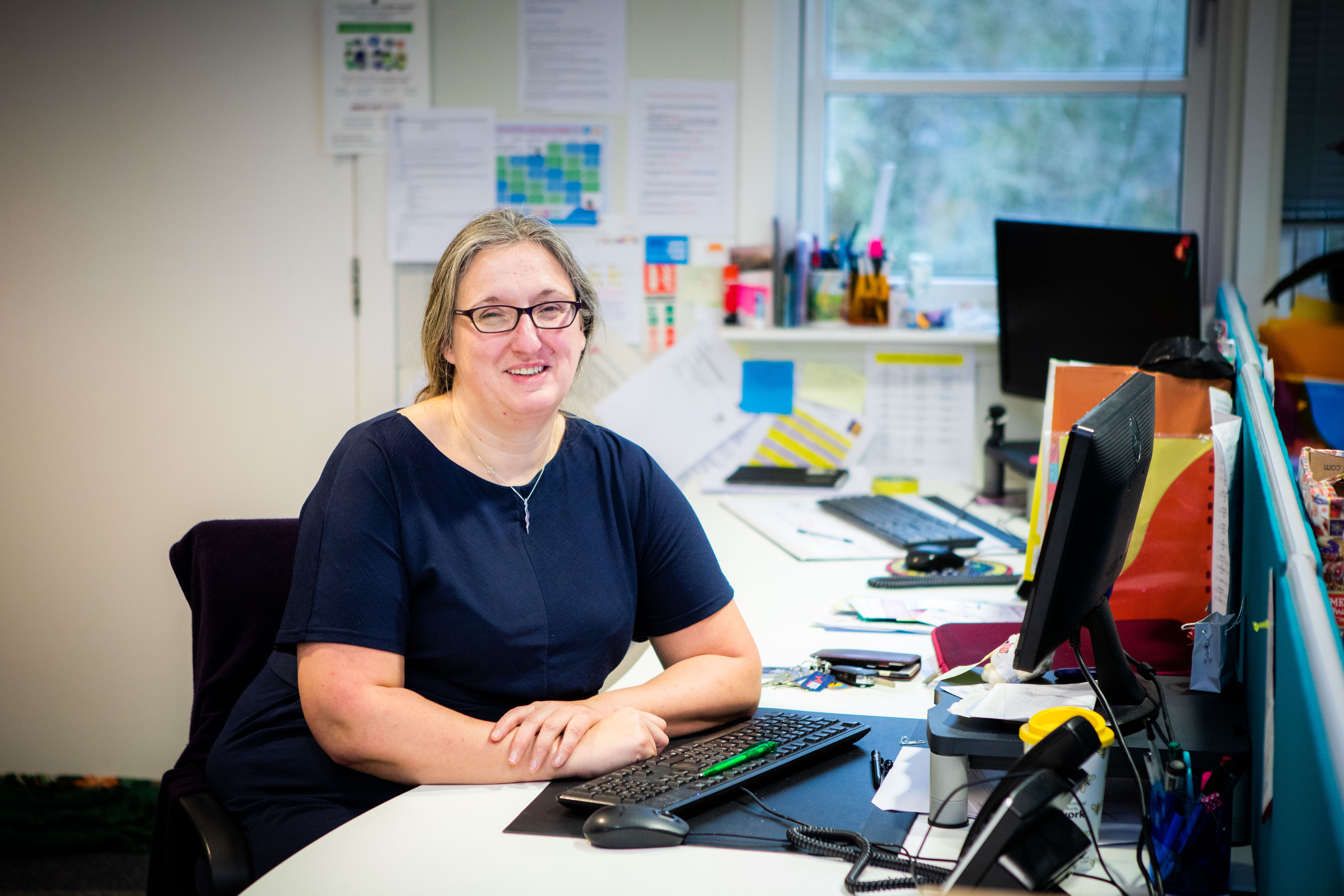 Heather Williams, manager of Perthshire Women's Aid.