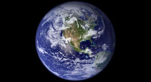 The fragility of the Earth as seen from space.