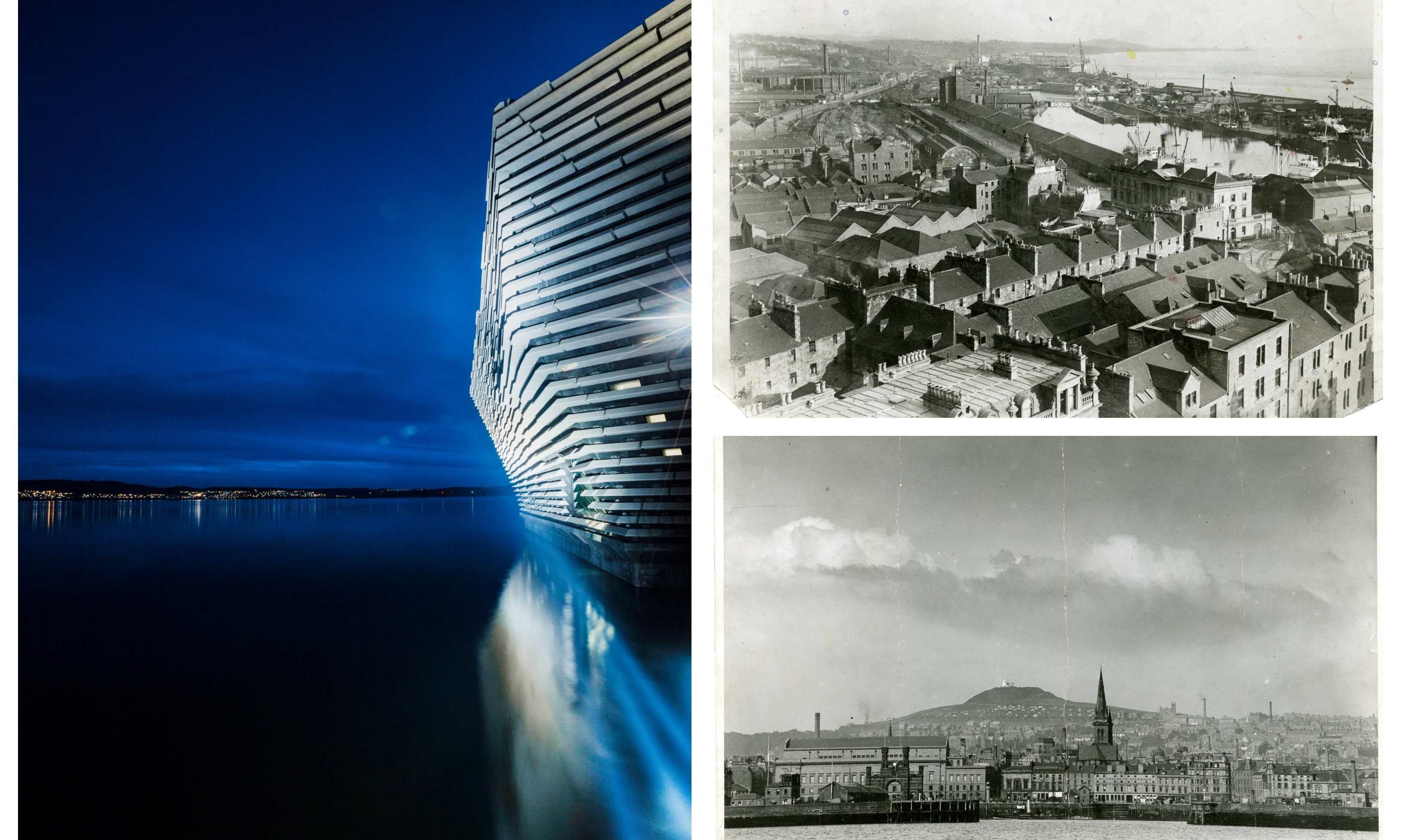 Dundee waterfront has changed drastically in the past century.