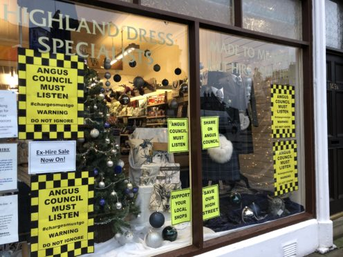 The front window of Michelle Ingram's shop.