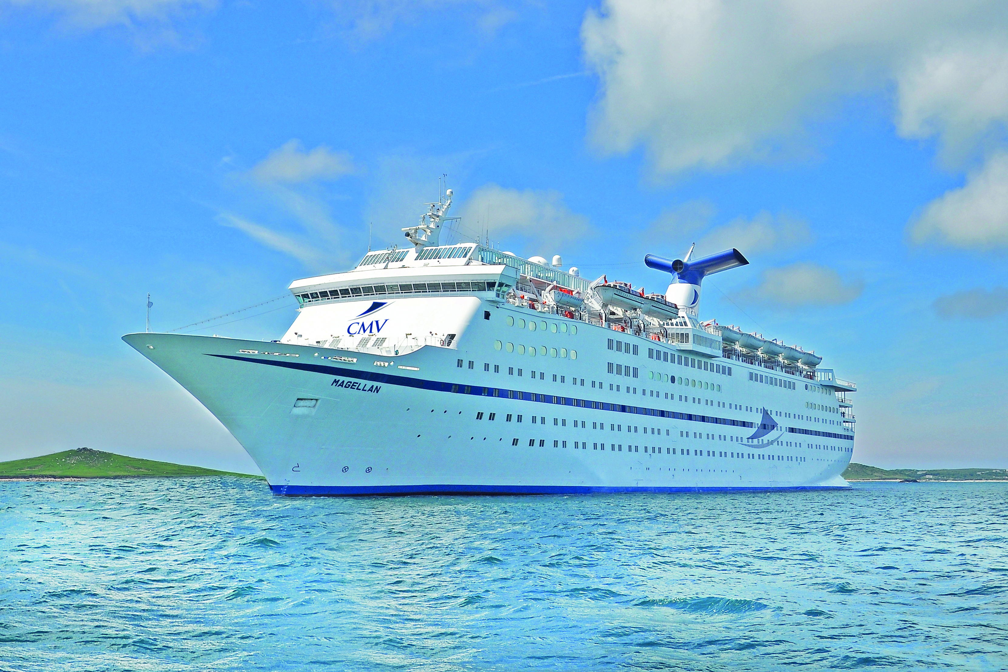 The Courier cruise will be on board the majestic Magellan.