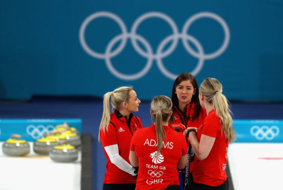 The Winter Olympics didn't give Eve the 2018 story she was hoping for.