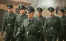 A scene from Sobibor with Christopher Lambert playing the part of a Nazi officer