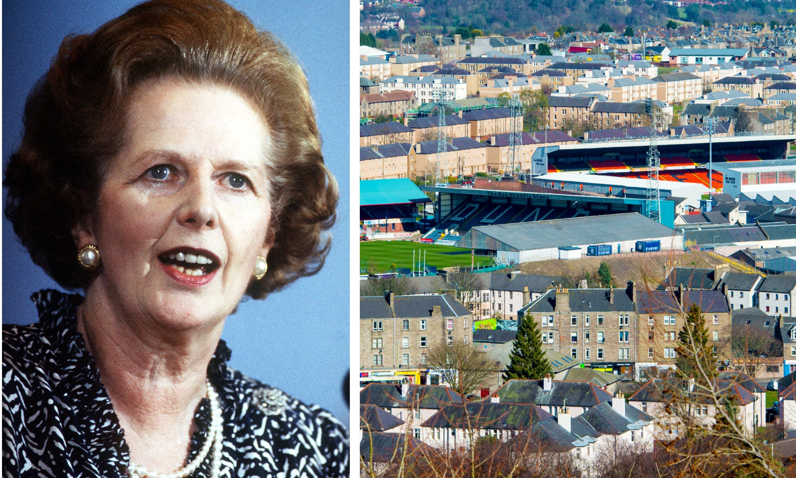 The stadium sharing debate in Dundee spread to Margaret Thatcher's cabinet in 1990, newly-released documents reveal.