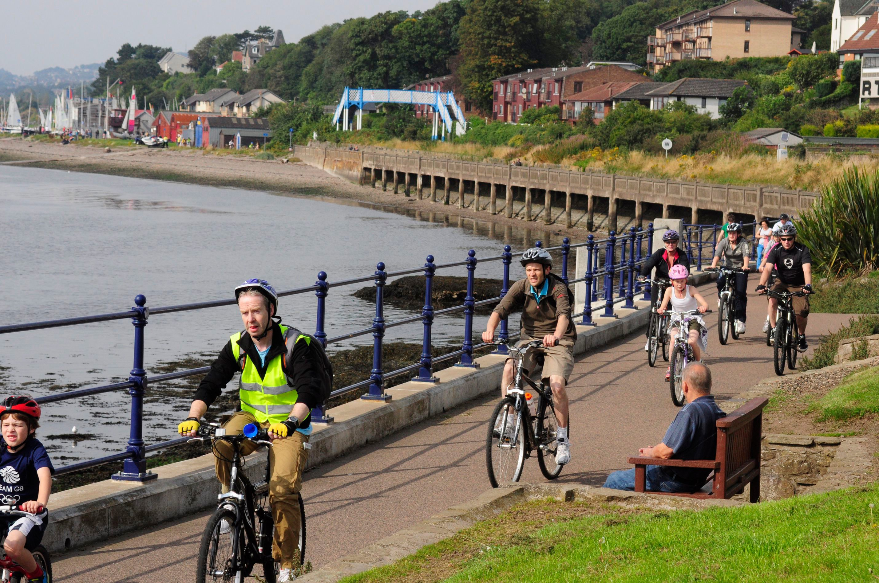The coastal protection measures would affect the Grassy Beach area of Broughty Ferry