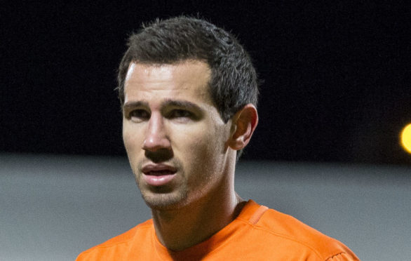 Ryan McGowan played for Dundee United in 2015/16.