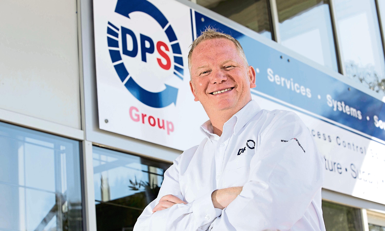 DPS Group director Colin Burnett