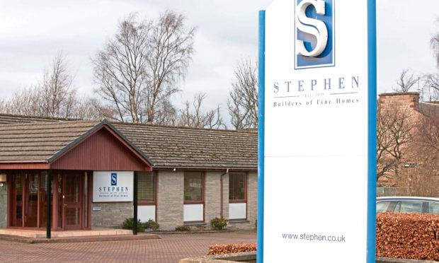 Stephen's offices on Edinburgh Road, Perth.