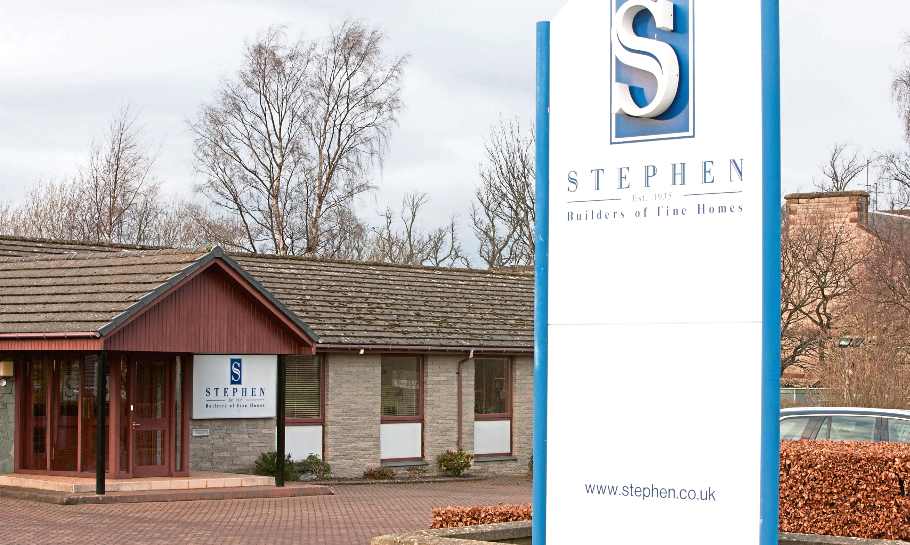 Stephen's offices on Edinburgh Road, Perth.