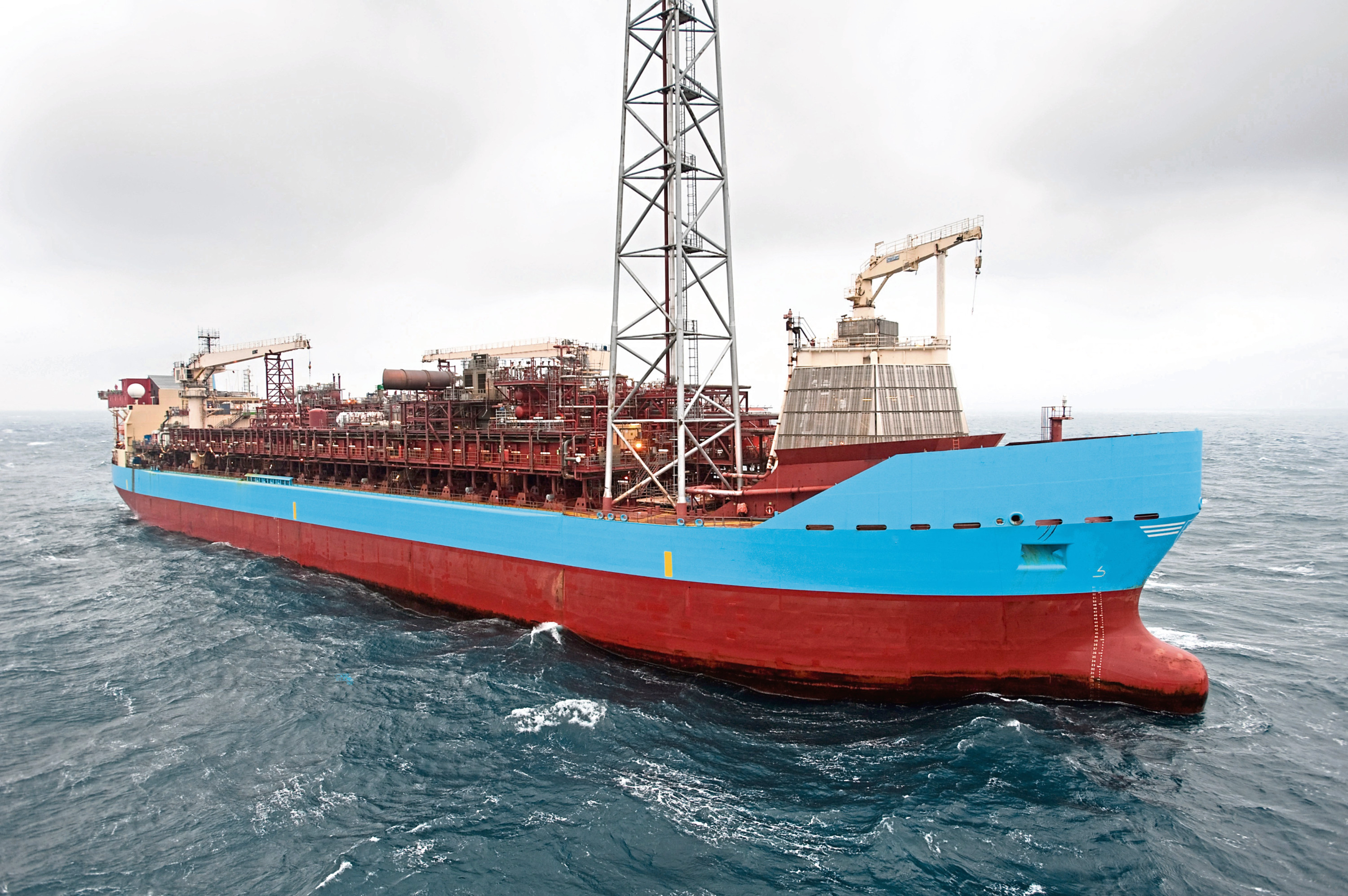 The Curlew floating production, storage and offloading vessel.