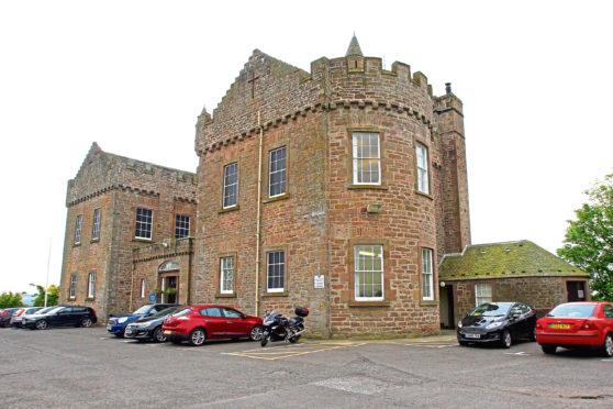 Castle Huntly open prison, part of Scottish Prison Service (SPS)