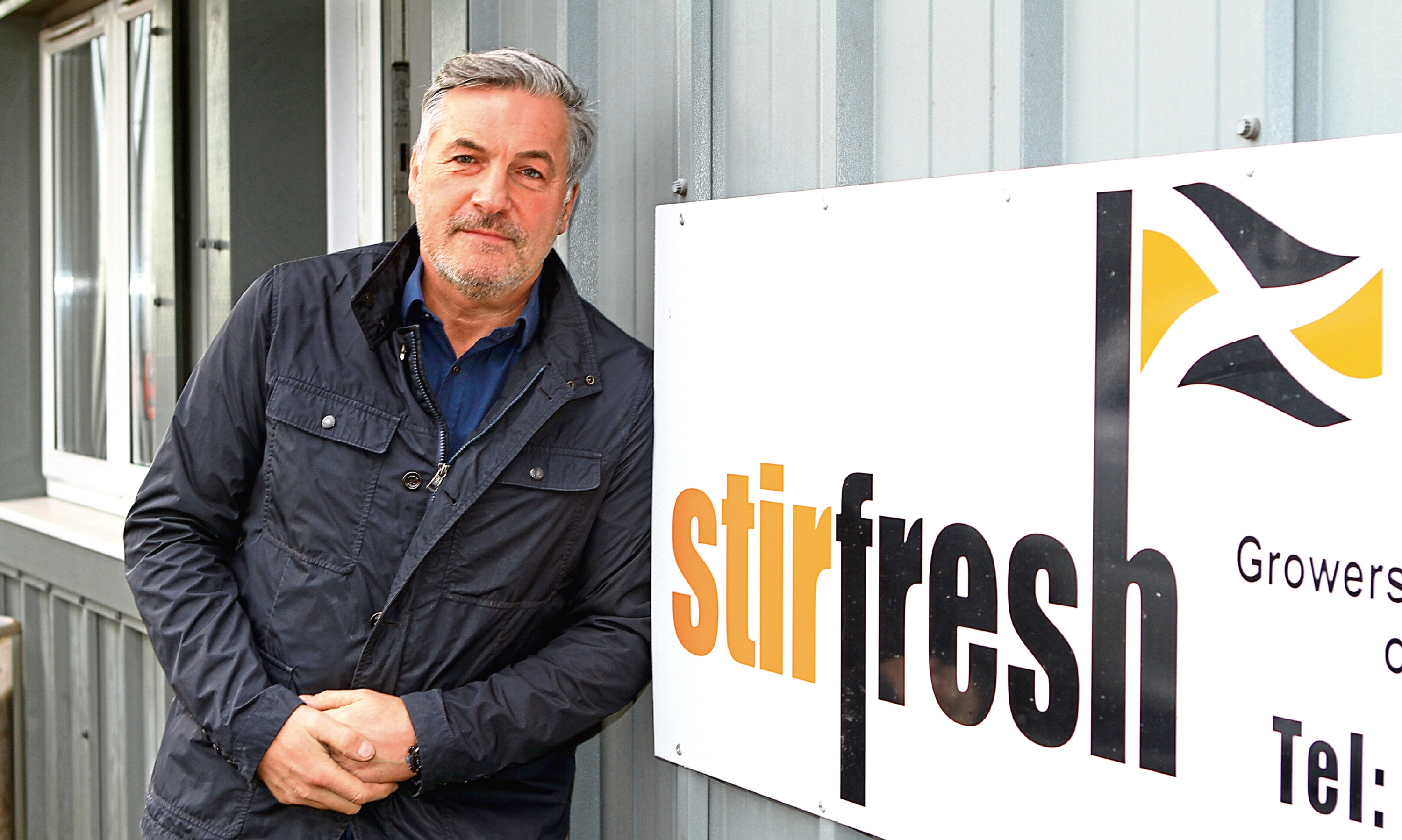 Andrew Stirling of Stirling Potatoes and Stirfresh.