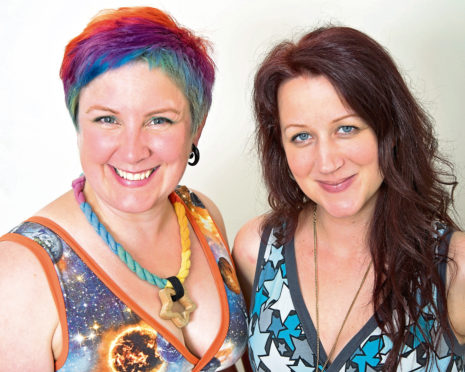 Kirsty Lunn and Ros Marshall of Perthshire underwear firm Molke have received guidance from Business Gateway.