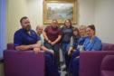 Duncan Ford (Senior Charge Nurse – ICU); Dr Michael Macmahon (Consultant Anaesthetist); Nicole Swatton; Jenni Rodgers; Anne Rodgers; Dr Marcia McDougall (Consultant Anaesthetist / ICU Clinical Lead); and Kelly Adair (Staff Nurse).